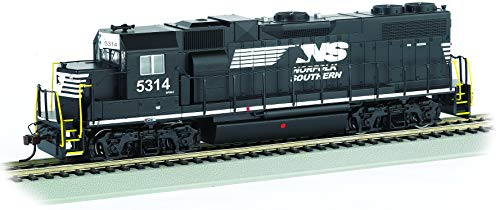 Bachmann Trains - EMD GP38-2 DCC Ready Diesel Locomotive - Norfolk Southern #5314 (Thoroughbred) - HO Scale (61721)