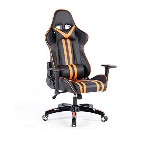 Gaming Chair BLTLYX Computerhuishouden kan liegen Spel om in een kantoor te werken Meer functie Draaistoel Zoals afgebeeld goud 2