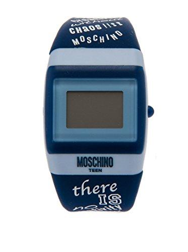 Moschino Orologio al Quarzo Digital Teen Blu 30 mm