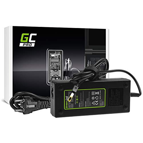 GC Pro Cargador para Portátil Lenovo Y70 Y50-70 Y70 Y70-70 Y520 Y700 Z710 700-15ISK ThinkPad W540 T440p Ordenador Adaptador de Corriente (20V 6.75A 135W)