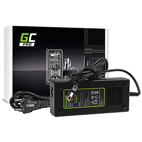 GC PRO Caricabatterie per Lenovo Y70 Y50-70 Y70 Y70-70 Y520 Y700 Z710 700-15ISK ThinkPad W540 T440p Laptop Notebook Portatile Caricatore Alimentatore (20V 6.75A 135W)