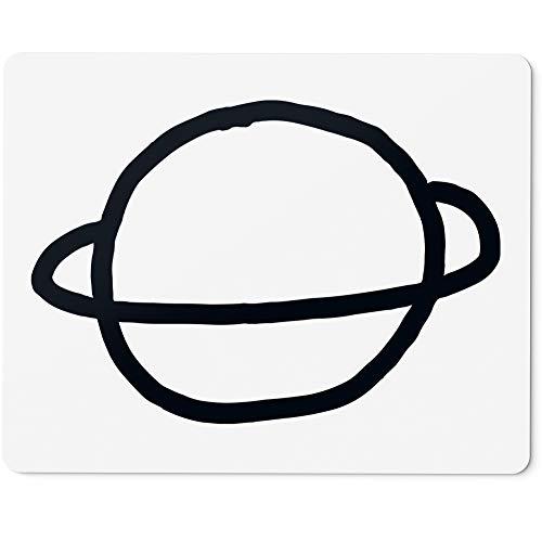 JUNIWORDS Mauspad Mousepad, Planet Saturn