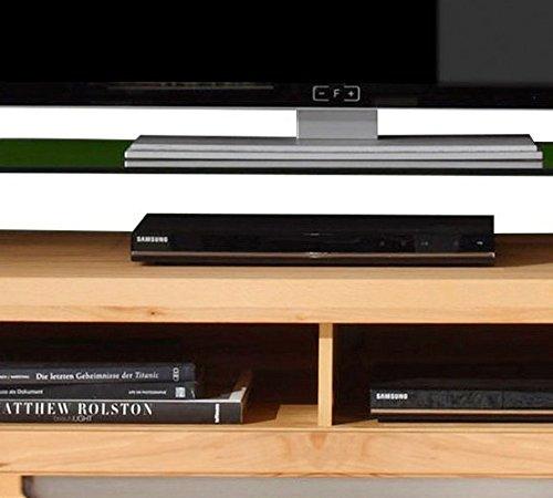 trendteam ZO31665 TV Möbel Lowboard, BxHxT 123 x 43 x 50 cm, Korpus Kernbuche Nachbildung und Fronten in Kernbuche massiv - 4