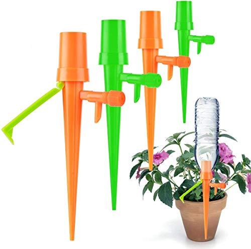 JOLVVN - 12 unidades de riego para plantas automáticas DIY, sistema de riego, dispensador de riego,...