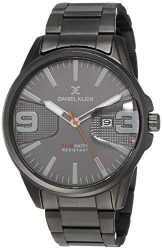 Daniel Klein Analog Grey Dial Men's Watch-DK12150-2