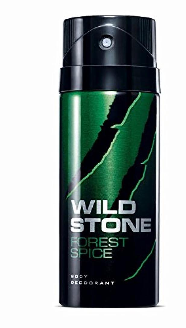 コートレディゲートWild Stone Forest Spice Body Deodorant For Men, 150ml (男性用ワイルドストーンフォレストスパイスボディデオドラント、150ml)