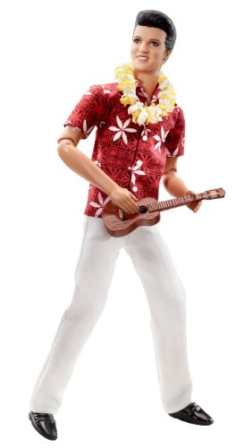 Mattel Barbie Elvis Presley Collection Classic Edition Elvis In Blue Hawaii