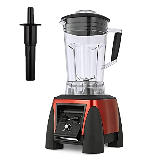 Licuadora Profesional de encimera de 2 litros, licuadora de Cocina de 2200 W, Frasco sin BPA, configuraciones de 10 velocidades para batido de Hielo y Frutas congeladas, licuadora de 45000 RPM