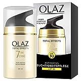 Olaz Total Effects LSF30, 7-in-1 Anti-Aging-Feuchtigkeitspflege, 50ml, Der Stärkste Sonnenschutz Von Olaz