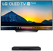$1575 Get LG Electronics OLED55B8PUA 55-Inch 4K Ultra HD Smart OLED TV with UBK90 4K Ultra-HD Blu-ray Player with Dolby Vision