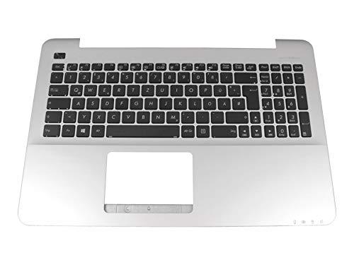ASUS F555UB Original Tastatur inkl. Topcase DE (deutsch) schwarz/Silber