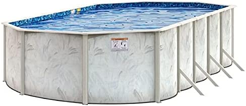 Max 74% OFF Pool 12 Ft x 18 Oval 52 Genuine Galvanized Ground Stee Above Inch H