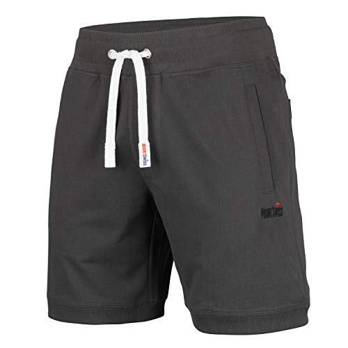 Mount Swiss Herren MS Short, Luca, Anthracite, Gr. L