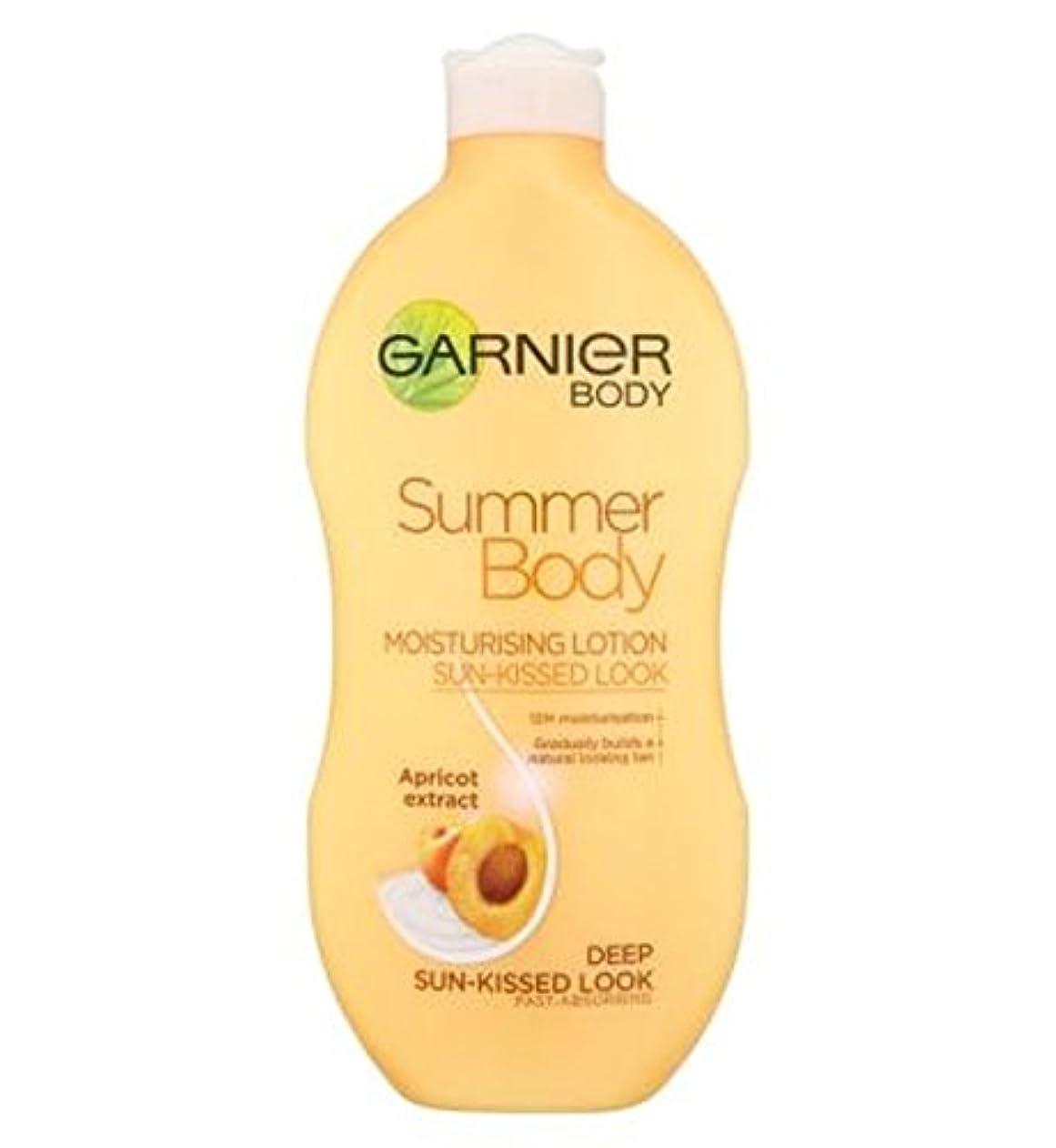 お手伝いさんすき第三Garnier Summer Body Lotion Deep Sun-Kissed 400ml - ガルニエの夏のボディローション深い日、キスをした400ミリリットル (Garnier) [並行輸入品]