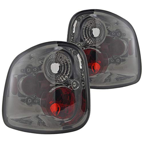 Spec-D Tuning LT-F150F97G-TM Ford F150 Xl Xlt Flareside Smoked Lens Altezza Tail Lights