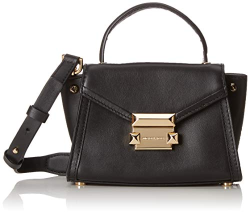 MICHAEL Michael Kors Whitney Mini Cross-Body Bag (Black)