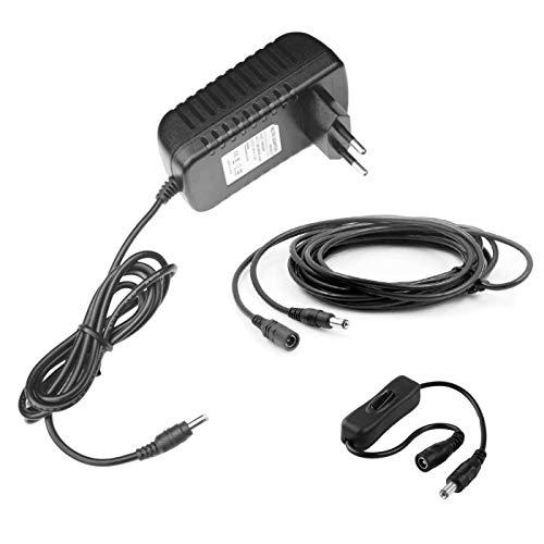 MyVolts 12V EU-Netzteil kompatibel mit Elektron Analog Rytm MKII Drum-Computer - Premium