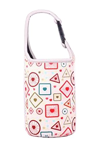 Lovely sac de bouteille de bébé Food Jar Bag géométrie