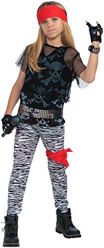 Forum Novelties 80's Rock Star Child Boy's Costume, Medium