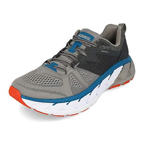 Hoka 1099629-FGSR: Men's Gaviota 2 Gray Frost/Seaport Running Shoe (10 D(M) US Men)