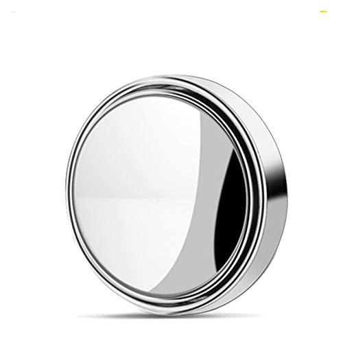 lxxiulirzeu 1 unids 2 unids Coche 360 Grados Espejo Ciego Espejo Gran Angular Redondo Espejo Convexo pequeño Lado Redondo Lado retrovisor estacionamiento Espejo (Color : 1pcs)