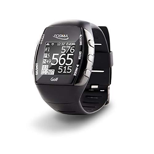 posma Neue GM2Golf Fitness GPS-Uhr–Entfernungsmesser–Activity Tracker mit eingebautem grünes Licht Herzfrequenz Monitor, Bluetooth Android iOS App, um Connect mit Smartphone und iPhone