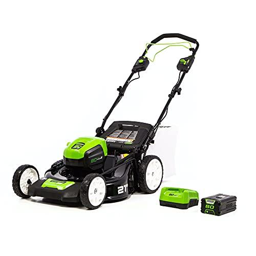 Greenworks MO80L410 Self-Propelled Lawn Mower