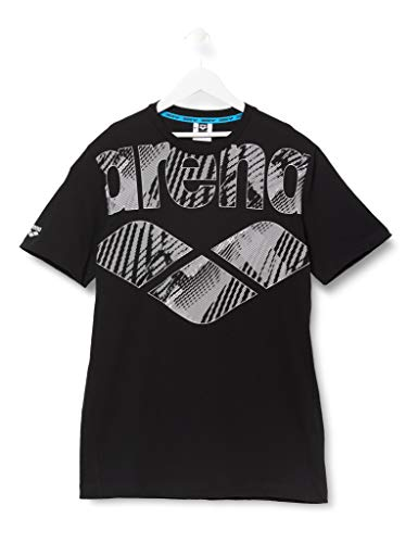 Arena T-shirt heren Logo Driven, zwart, XL