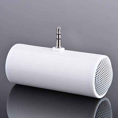 3.5 Mini Altavoz Recto - Blanco