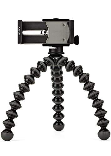 Joby JB01390-BWW GripTight GorillaPod Stand PRO per Qualsiasi Smartphone, Nero