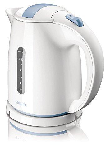 Philips HD4646/70, HD4646  Wasserkocher, 1.5 L, 2400 W, weiß / blau
