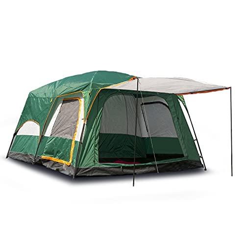 Activa Luxury Garden Outdoor Zelt für 4-6 Personen und 3 Jahreszeiten mit Vorzelt wasserdicht kleines Packmaß einfach aufzubauen sehr geräumig für Camping, Wandern und Outdoor-Aktivitäten