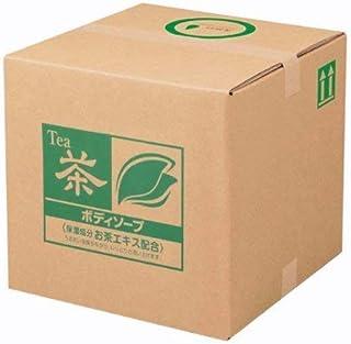 業務用 SCRITT(スクリット) お茶 ボディソープ 18L 熊野油脂 (コック付き)