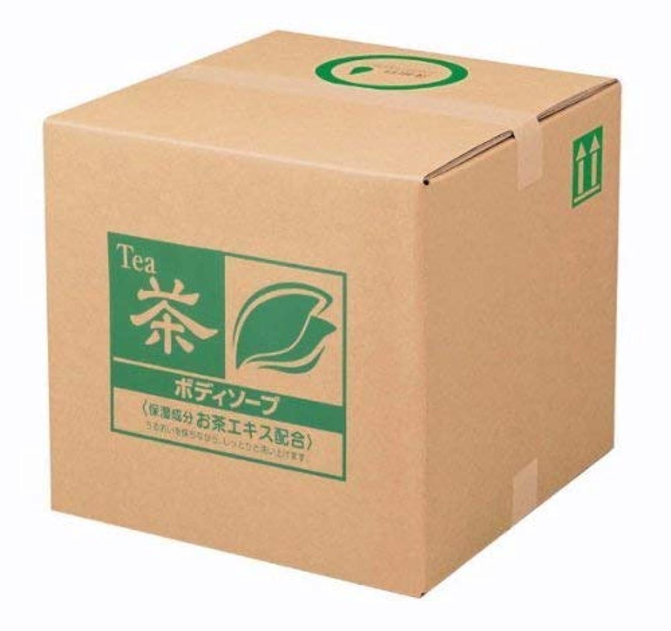 類似性状態盗賊業務用 SCRITT(スクリット) お茶 ボディソープ 18L 熊野油脂 (コック付き)