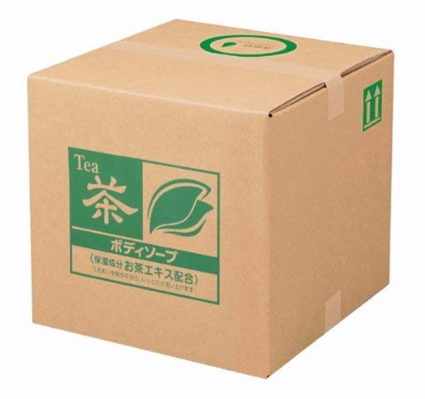 メロディー文明化スツール業務用 SCRITT(スクリット) お茶 ボディソープ 18L 熊野油脂 (コック付き)