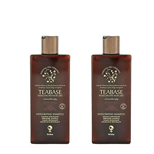 Shampoo anti caduta professionale 500 ml tecna the spa teabase aromatherapy invigorating shampoo DUO PACK 2 x 250ml PROMOZIONE SPEDIZIONE GRATUITA