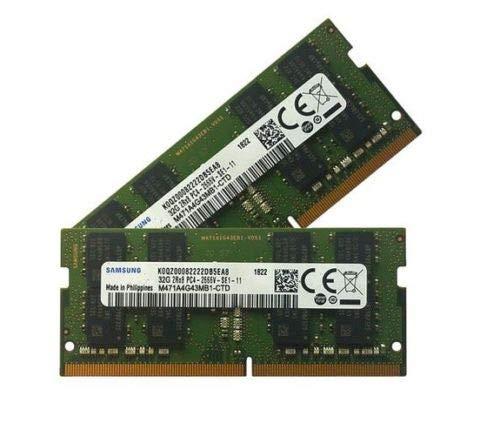 Samsung 32 GB 260 pin DDR4-2666, SO-DIMM 2666Mhz, PC4-2666V-S (2x32GB)