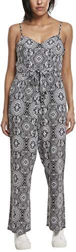 Urban Classics Damen Jumpsuit Ladies Spaghetti, Mehrfarbig (Bandana 01060), Herstellergröße: XX-Large