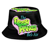 The Fresh Prince of Bel-Air Fisherman's Hat Hunting Travel Bucket Cap Hat Round Hat Casual Hat Sports Hat Sun Hat Black