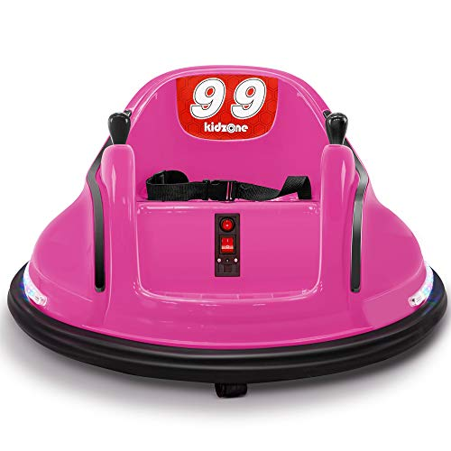 Review Of Kidzone Race #99 Kid Ride-on Bumper Car 6V Electric Rechargeable Power Remote Control 360 ...