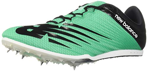 New Balance Men's Middle Distance 500 V6 Running Shoe, neon Emerald/Black, 11.5 D US