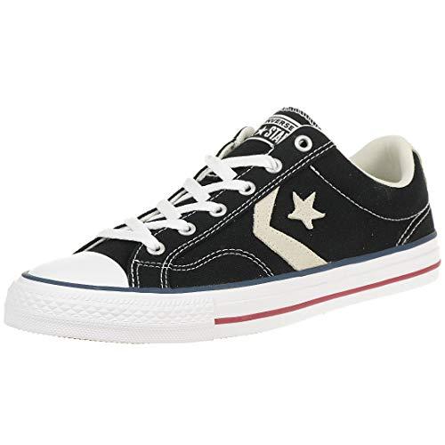 Converse Sneaker Star Player OX 144145C Schwarz, Schuhgröße:43