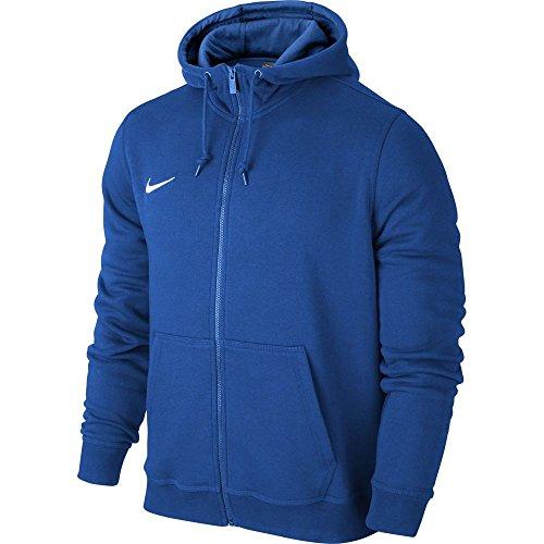 Nike Team Club Fz Hoody - Sudadera con capucha para hombre, color Azul (Royal Blue/Football White), talla M
