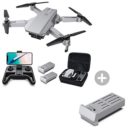 Tomzon D25 4K Drone with Camera, Easy to Fly FPV Foldable Drone for Adults with Battery