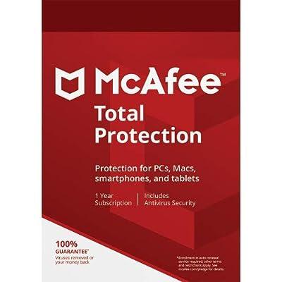 McAfee MAB17EMB1RAA AntiVirus 2017 1 PC