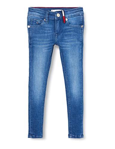 Tommy Hilfiger Mädchen Nora Super Skinny Brbst Jeans, Blau (Breeze Blue Stretch 1a4), 6-7 Jahre (Herstellergröße: 6)