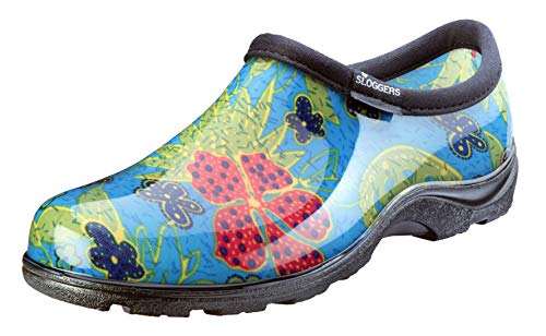 Cute Waterproof Garden Shoe with Comfort Insole - Choice of Patterns