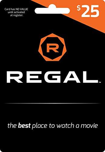 Regal Entertainment Gift Card $25