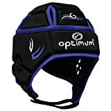 OPTIMUM Hedweb Classic Couvre-Casque de Protection Tribal Senior Unisexe-Noir/Bleu, Grand Unisex-Adult