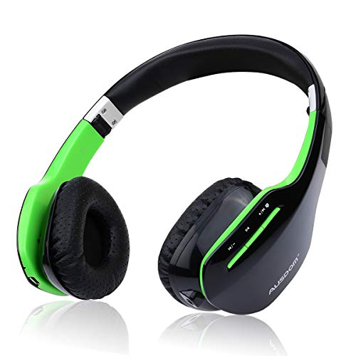 Bluetooth Headphones Thanksgiving Gift, AUSDOM M07S Bluetooth Wireless Stereo Headphone Foldable Over-Ear Headsets for TV, Phone, PC